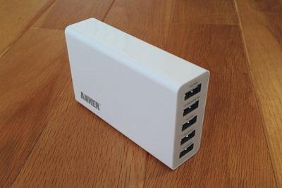 [IMG] Anker 25W 5ポート USB急速充電器