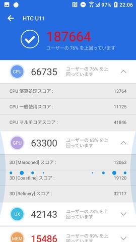 HTC U11 SIMフリー 33