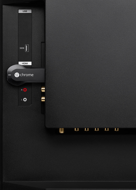 Chromecast TV 画像