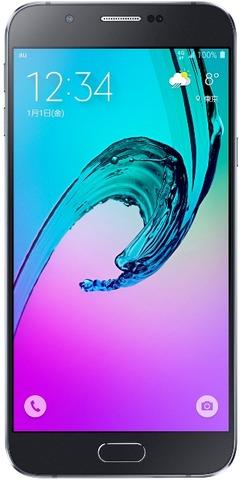 Galaxy A8 Black_1