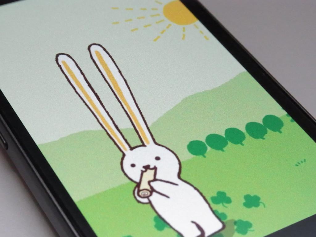 耳が長 い可愛くて美味しい んっ ロールちゃんのライブ壁紙でほんわかしよう ロールちゃんライブ壁紙 Androidアプリ ライブドアニュース