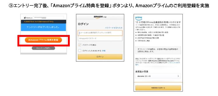 プライムギフトコード ドコモ amazon ドコモのプランについてくるAmazonプライム