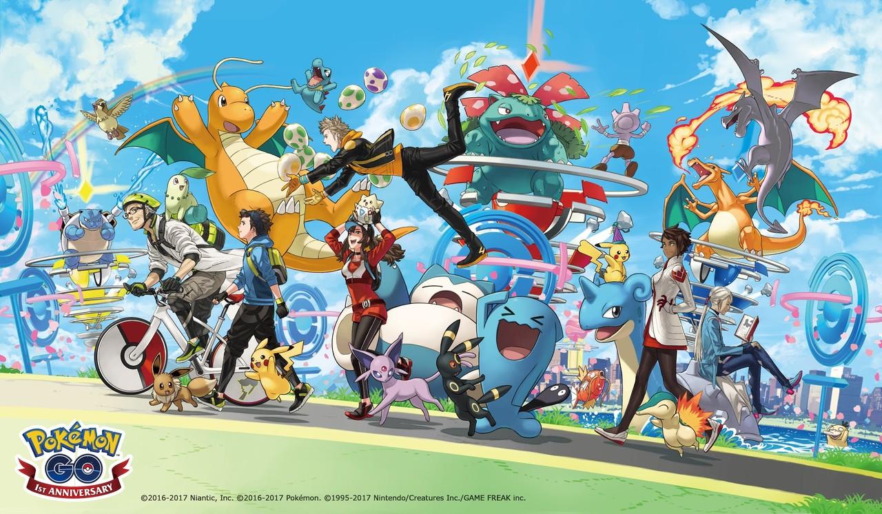スマホなど向けゲーム「pokemon go」においてtvアニメ