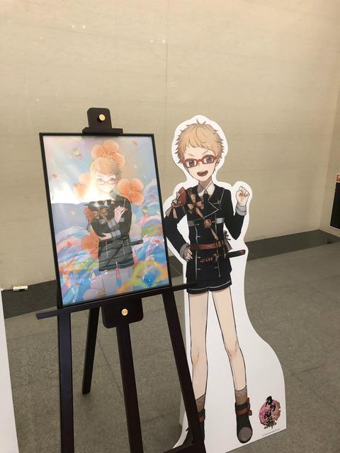 福岡市博物館「侍展」の刀剣乱舞コラボ初日の様子37