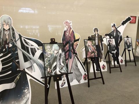 福岡市博物館「侍展」の刀剣乱舞コラボ初日の様子28
