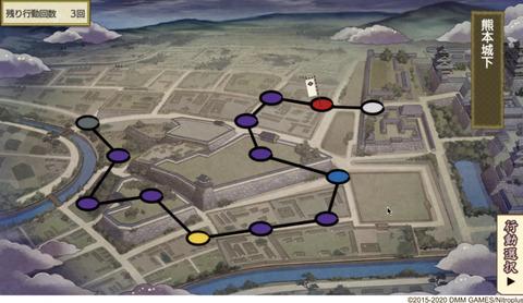 熊本城下マップ