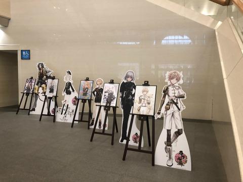 福岡市博物館「侍展」の刀剣乱舞コラボ初日の様子41