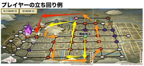 高知城下町のボスのはめ込み例