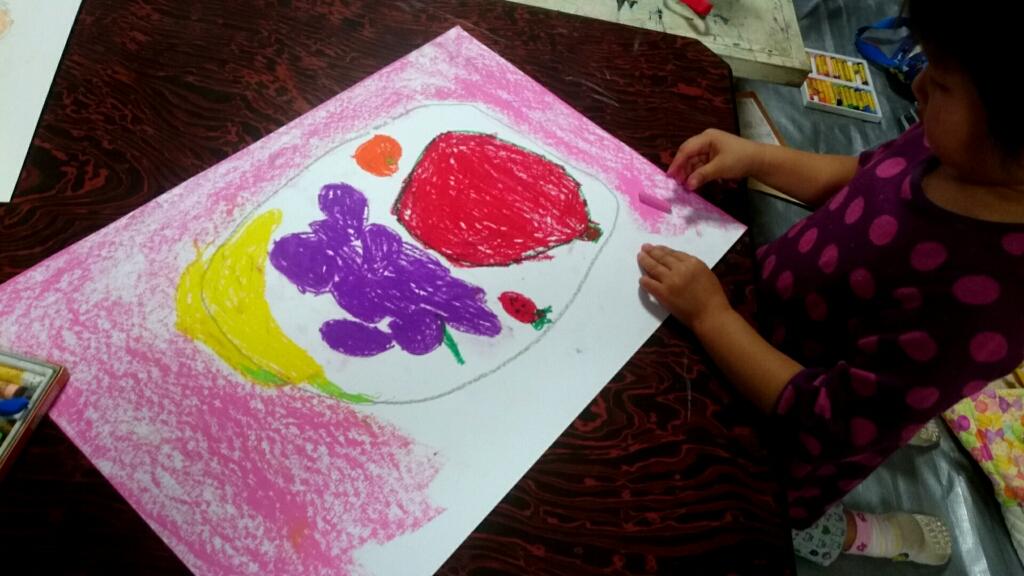 八尾子供絵画教室、金曜日 : POINT OF VIEW