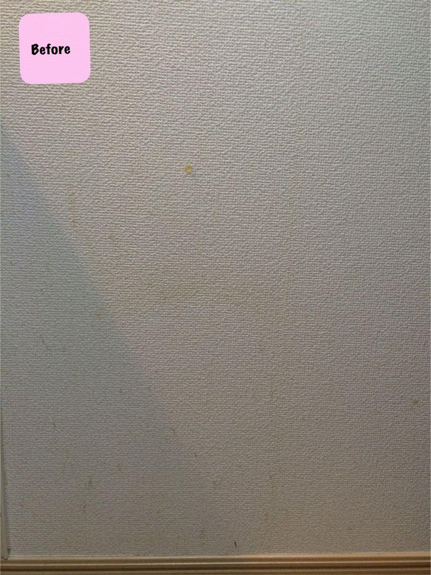 重曹で壁紙掃除 Girly Freedom