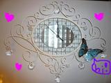 時計と蝶々