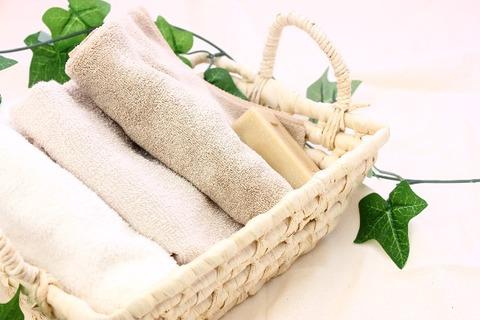 洗濯物を軽量化1