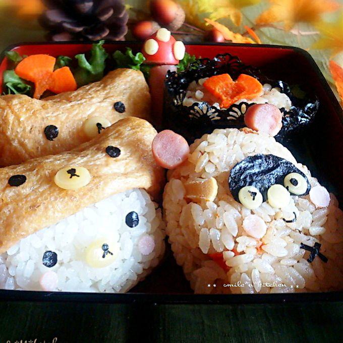 秋の炊き込みご飯弁当 SnapDish 料理カメラ