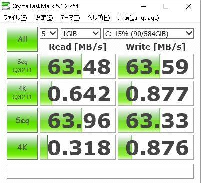 Let's note CF-S10内臓HDDをSSDに換装