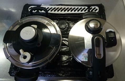 フィスラー エディション (Fissler Edition) 4.5L 圧力鍋購入 - エレクトリック・タイマー付き -