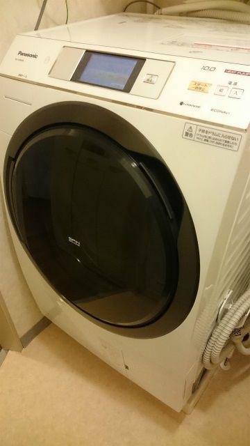 パナソニックのドラム式洗濯乾燥機(NA-VX9600L)購入
