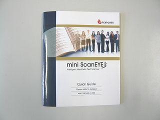 mini ScanEYEマニュアル