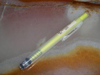 ポリプロピレンノック式蛍光ペン