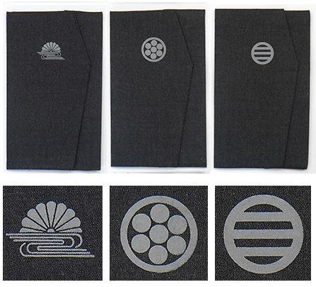 菊水紋-丸に七曜紋-丸に割り三引き両紋