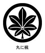 家紋 家紋検索 丸に楓紋