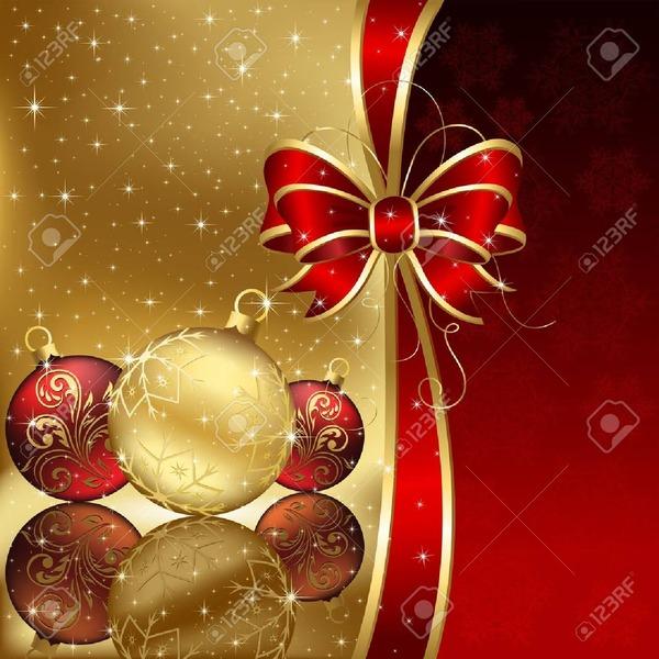 10885203-星とクリスマス-ボール、図の背景