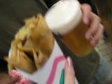 クレープ&ビール