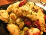 魚介と豆のサラダ