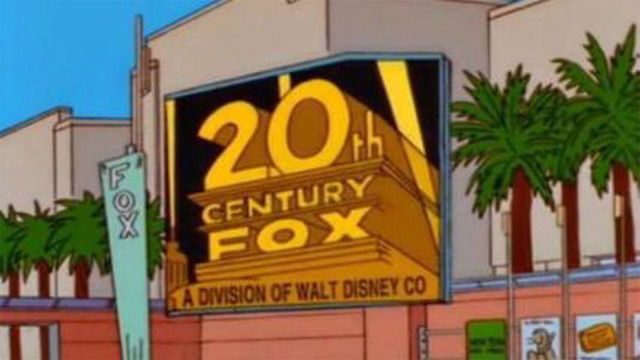 the-simpsons-disney-fox