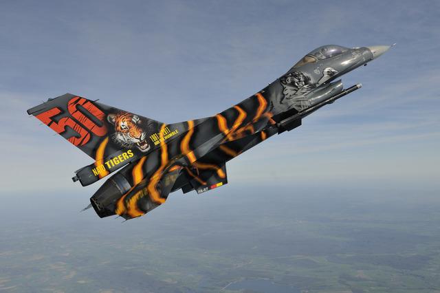 F16 Belgian Tiger-KT1101