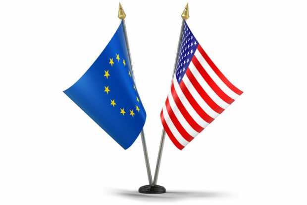 3d_illustration_eu_american_flags
