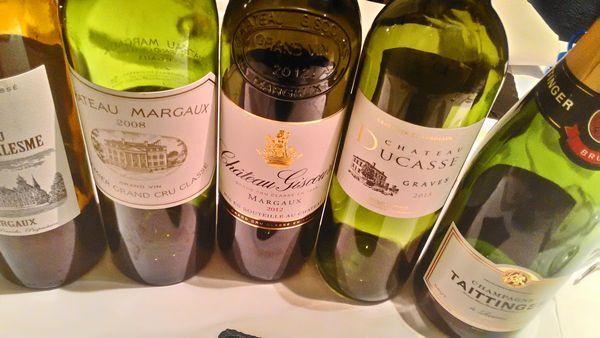 ボルドーワイン会170w