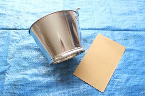 漆喰塗料 バケツリメイク アンティークメディウム リペイント