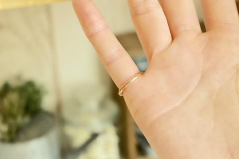 リングストッパー 指輪 サイズ調節 大きすぎた