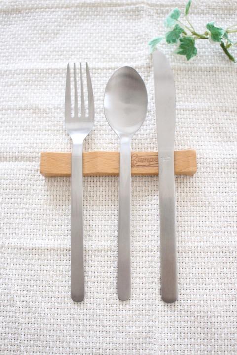 木製カトラリーレスト セリア アウトドア カフェ風