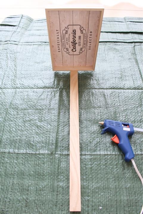 木製角材 セリア 簡単DIY棚 ラック カフェトレー