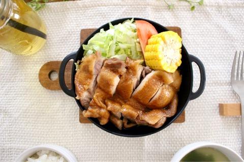 ラウンドパンプレートスキレットプレート セリアプラ製おうちカフェ