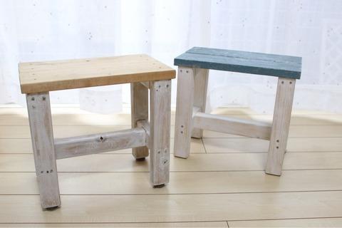 キズ防止フェルト打ち込みタイプ ダイソー スツール 椅子DIY