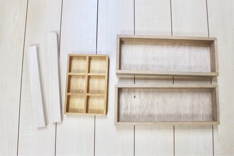 アクセサリーラック セリア 簡単DIY