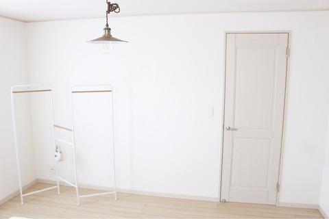 寝室ベッドルーム リメイクシート 板壁