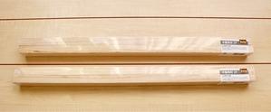 セリア木製角材2P45×2.5×1.5㎝ カフェトレー DIY