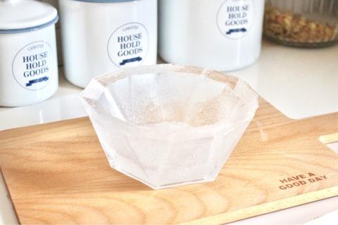 氷のうつわ ダイソー フルーツ