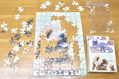 ジグソーパズル セリア B5サイズ 108ピース