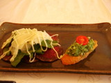 焼き魚と牛肉