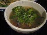 パクワーと干し魚のスープ