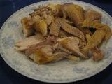 地鶏の丸焼き