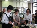 調理の実習