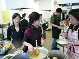 駒込料理教室の風景
