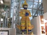 スワンナブーム空港の出迎え