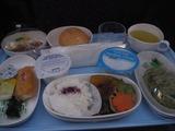 SQ631便の機内食