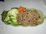 豚ひき肉のスパイシーサラダ(ラープ)